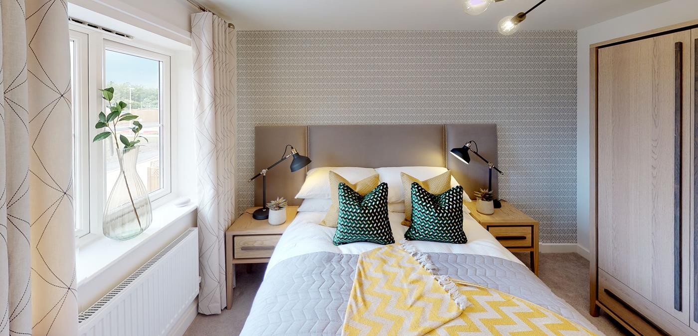 Standish Grange Show Home Bedroom (2)