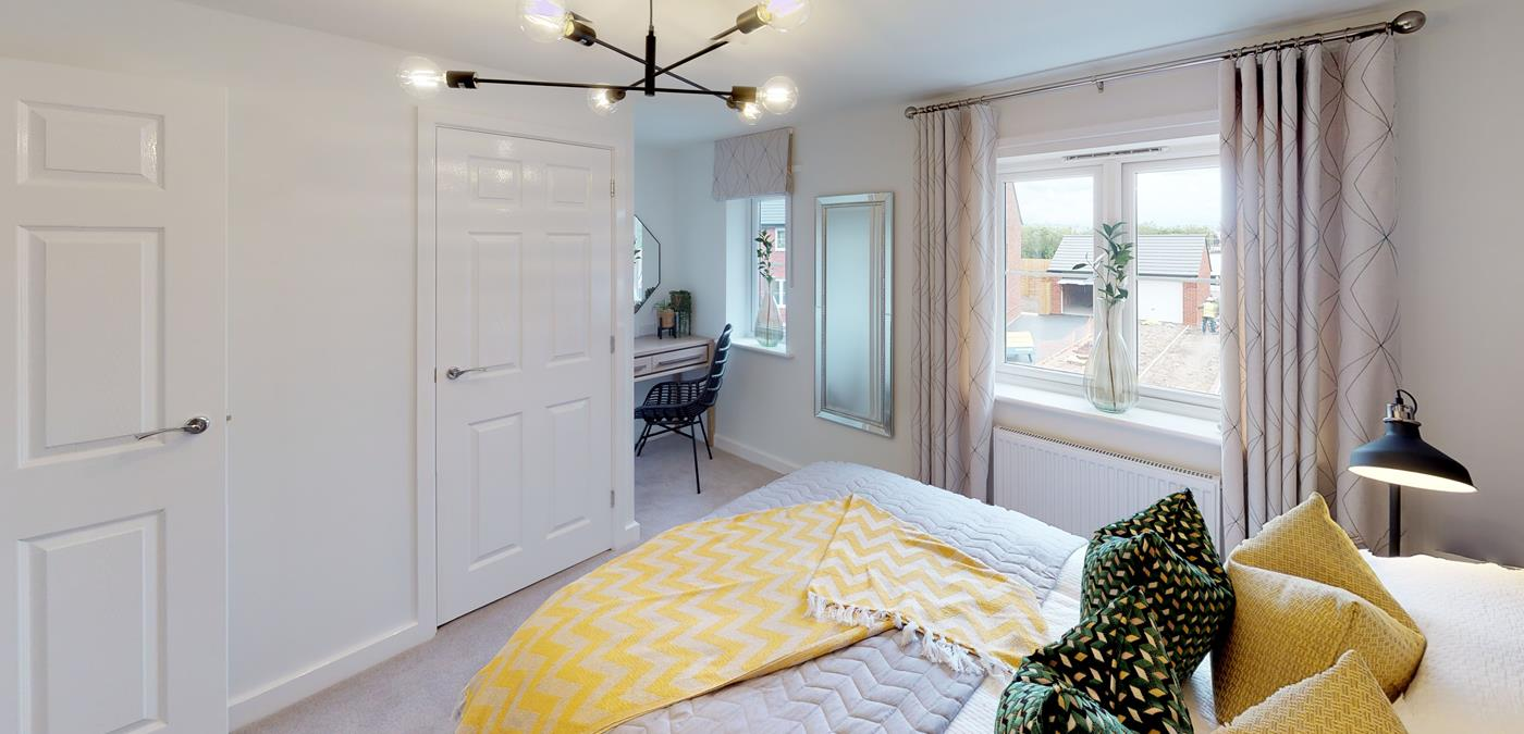 Standish Grange Show Home Bedroom (1)