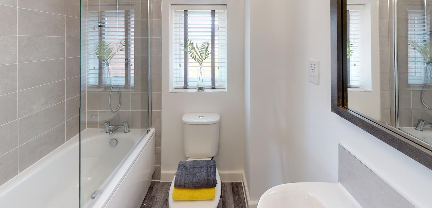 Standish Grange Show Home Bathroom
