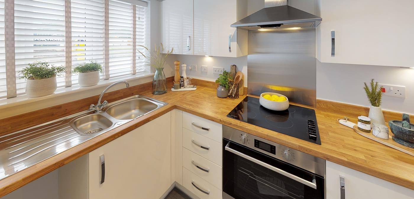 Standish Grange Show Home Kitchen
