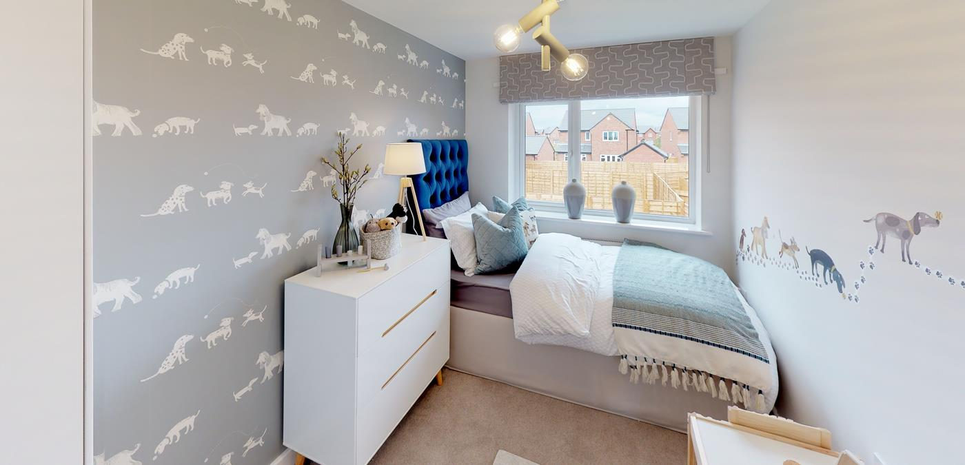 Standish Grange Show Home Bedroom (3)