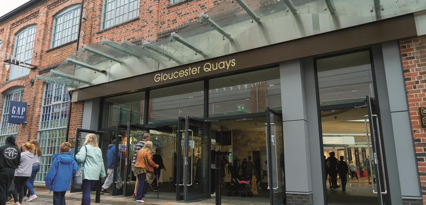 Gloucester Quays Entrance