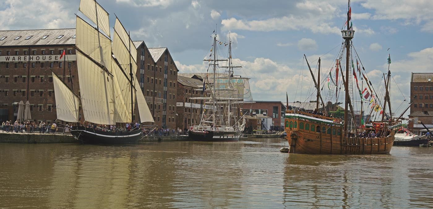 Gloucester Quays Ship Festival