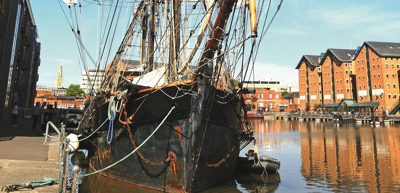 Gloucester Quays Ship