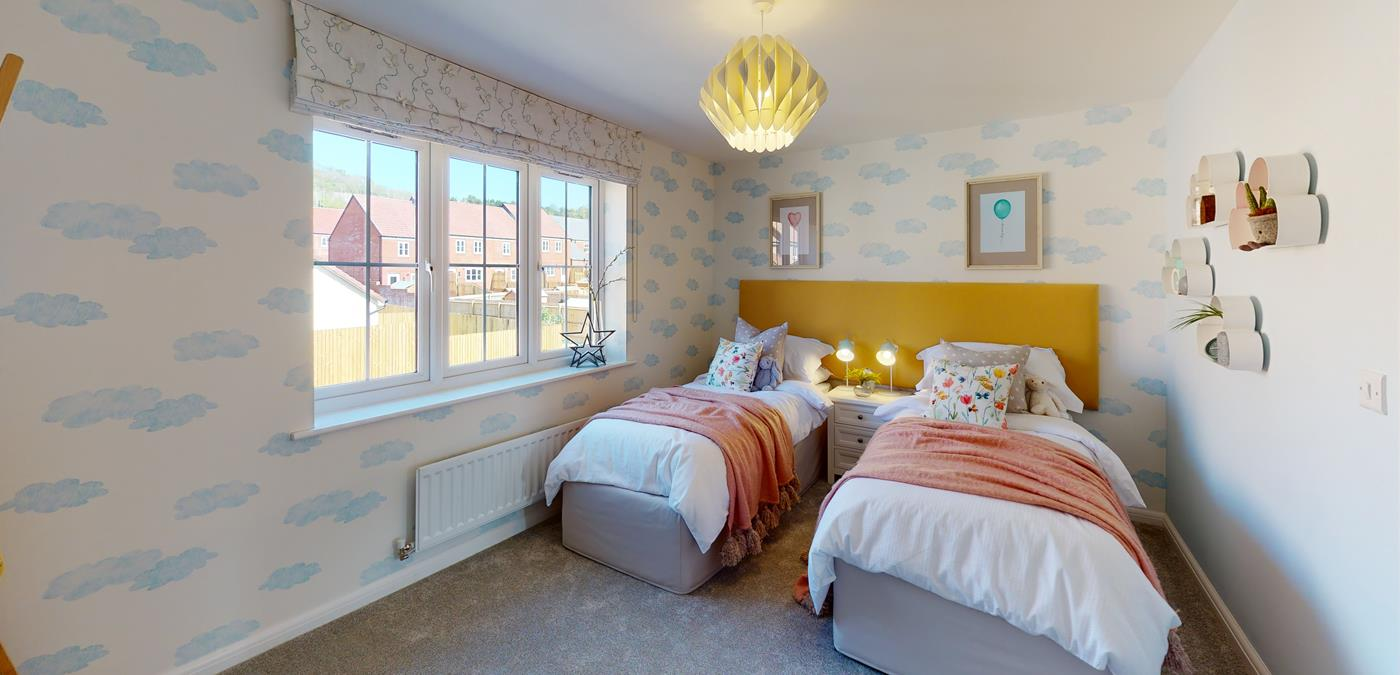 Priory Fields Wells Bedroom